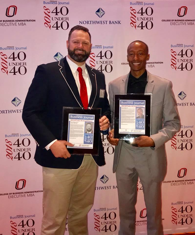 Receiving 40 Under 40 Award